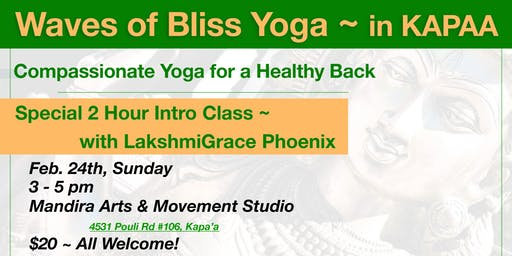 Waves Of Bliss Yoga with LakshmiGrace Phoenix