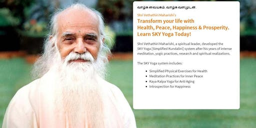 Simplified Kundalini Yoga (SKY Yoga) event - WCSC