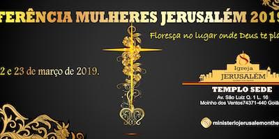 CONFERÊNCIA MULHERES JERUSALÉM 2019