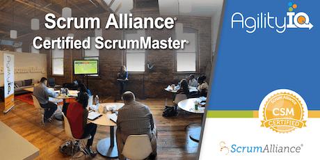 Certified Scrum Master Training (CSM) tickets