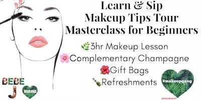 Learn & Sip-Makeup Tips Tour Detroit