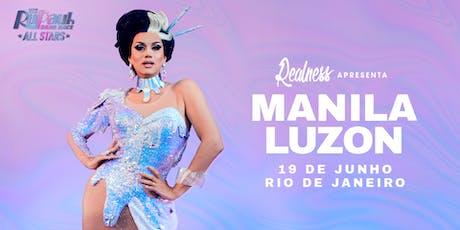 Realness apresenta Manila Luzon (RJ)  ingressos