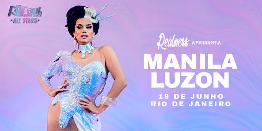 Realness apresenta Manila Luzon (RJ)
