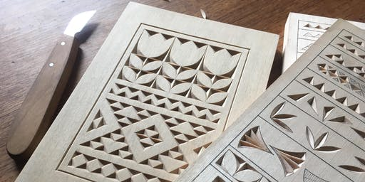 Introduction to Chip Carving w/ Saturday Box Company (September 21st + 22nd, 2019)