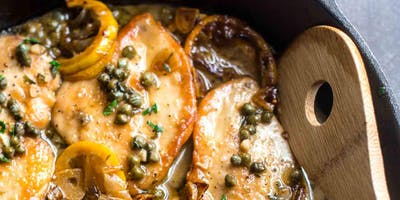 Quick+Fix+Dinner%3A+Chicken+Piccata+%2B+Lemony+Or