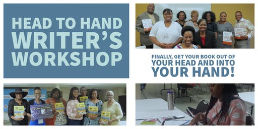 Head to Hand Writer's Workshop - 8/10/19