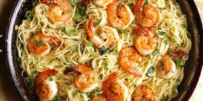 Quick+Fix+Dinner%3A+Linguine+with+Shrimp+Scampi