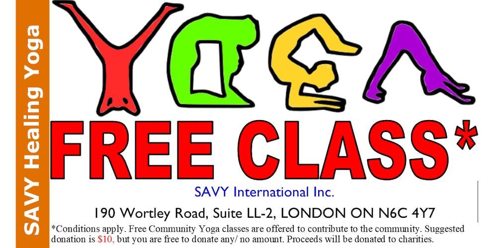 909dbc1a93d FREE COMMUNITY YOGA CLASS Tickets, Tue, 19 Feb 2019 at 9:30 AM ...