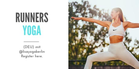 Lisa's Runners Yoga I Yoga für Läufer Tickets