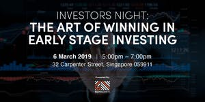 Investors Night: The Art of Winning in Early Stage...