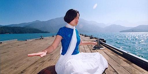 Falun Gong: Gratis meditatielessen, Parc De La Boverie, LUIK