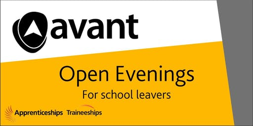 Open Evening for school/college leavers