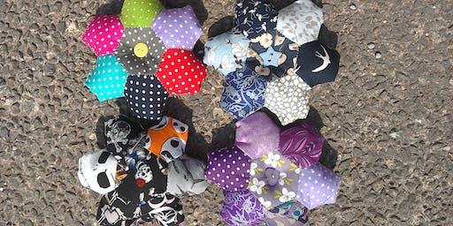 Learn English Paper Piecing – Hexagon Pin Cushion