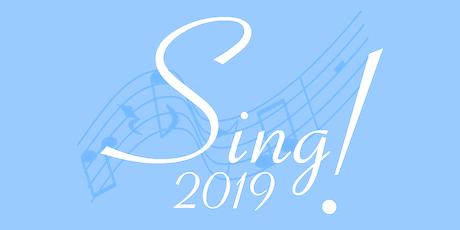 Sing! 2019 tickets
