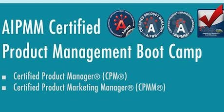 AIPMM Certified Product Management Boot Camp - AIPMM DUAL - CPM & CPMM tickets