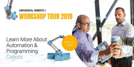 UR+ Workshop Tour 2019 Ireland | Cork |In Collaboration with Cobots.ie tickets