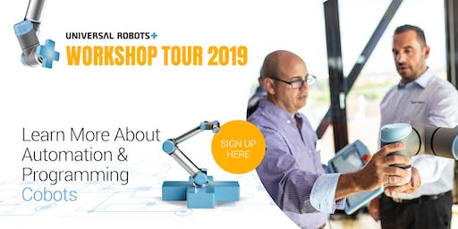 UR+ Workshop Tour 2019 Ireland | Cork |In Collaboration with Cobots.ie