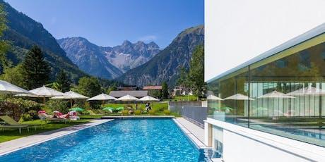 5 Tage Hatha Yoga & Meditation im 4*S Luxus Hotel, Wandern oder E-Bike, 2000m² Wellness Tickets