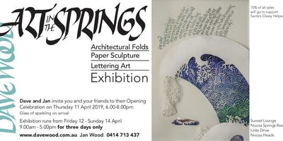 Art in the Springs Exhibition - 3 days only