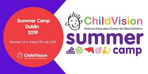Summer Camp at ChildVision 2019