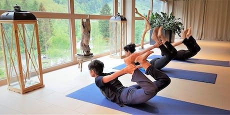 5 Tage ´Hatha Yoga & Meditation im 4*S Luxus Hotel, Wandern oder E-Bike, 2000m² Wellness Tickets