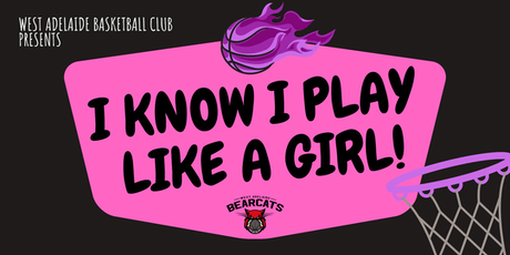 I know I play like a girl!  U10s & U12s Workshop 4 - Mirror Mirror tickets