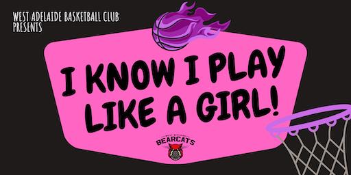 I know I play like a girl!  U10s & U12s Workshop 4 - Mirror Mirror