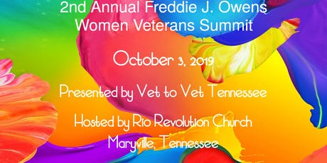 2nd Annual Freddie J. Owens Women Veterans Summit 2019 tickets