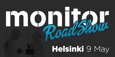 Monitor Roadshow Finland – Helsinki 9/5
