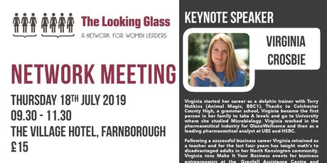 The Looking Glass with Virginia Crosbie  tickets
