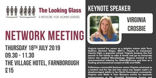 The Looking Glass with Virginia Crosbie