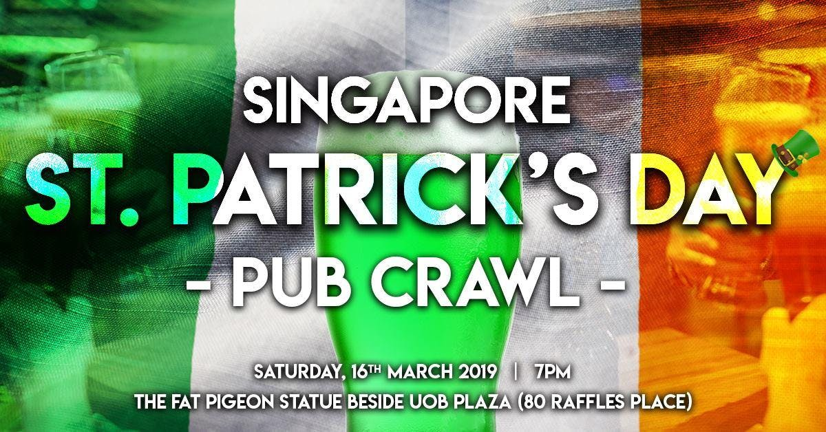 Singapore St' Patrick's Day Pub Crawl