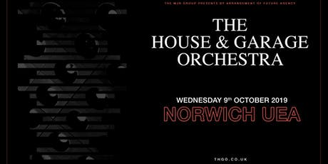 The House & Garage Orchestra (UEA, Norwich) tickets