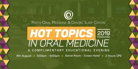 Hot Topics In Oral Medicine 2019 tickets