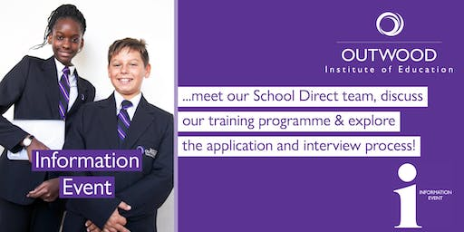 School Direct Information Events - Tees Valley