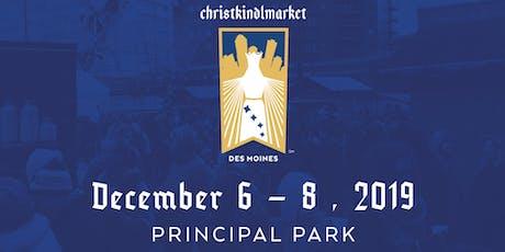 Christkindlmarket Des Moines 2019 tickets