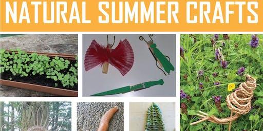 Natural Summer Crafts