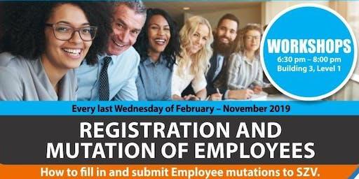SZV: Employee Registration & Mutation workshops