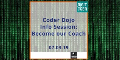 CoderDojo Info Session: become our Coach