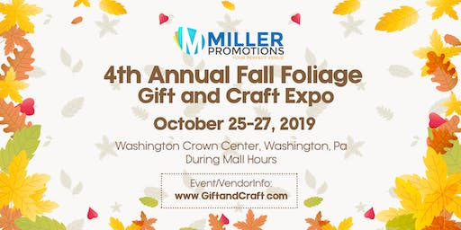 4th Annual Fall Foliage Gift and Craft Expo