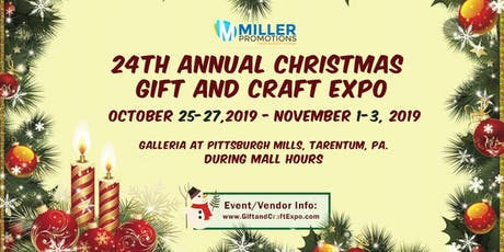 24th Annual Christmas Gift and Craft Expo, tickets