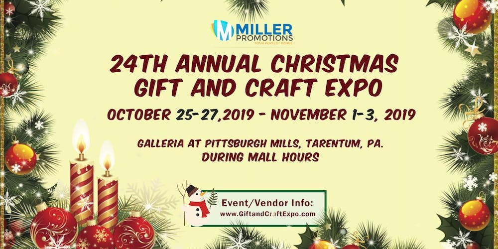 Pittsburgh Christmas Events 2019 24th Annual Christmas Gift and Craft Expo, Tickets, Multiple Dates