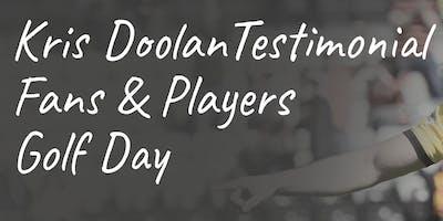 Kris Doolan Golf Day