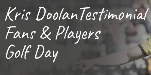 Kris Doolan Golf Day