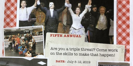 """5th annual Summer """"Triple Threat"""" Broadway Camp with Broadway Actor and more!"""