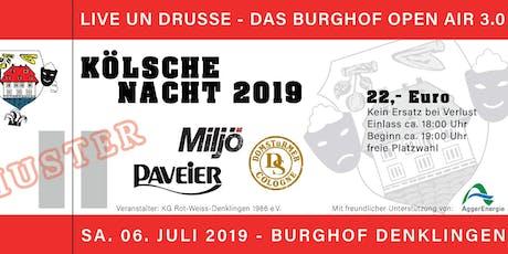 Kölsche Nacht 2019 Tickets