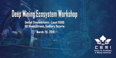 Northern Ontario Deep Mining Ecosystem Development Workshop