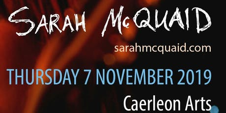 Sarah McQuaid tickets