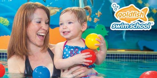 FREE Baby & Me Introductory Mini Swim Class!