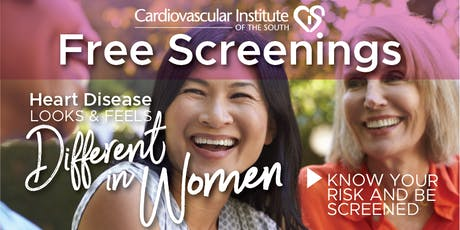 CIS BR: Free Women's Program Wellness Screenings tickets